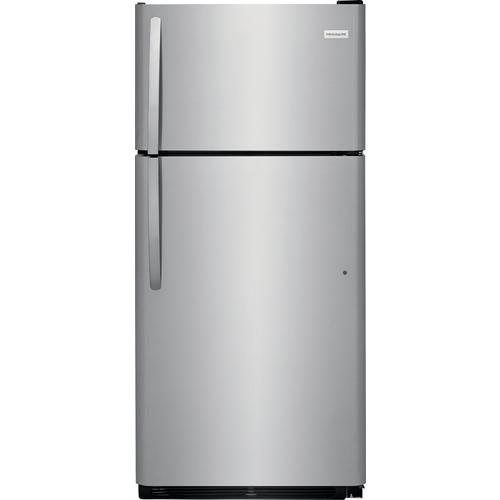 18 cu. ft. Top Mount Refrigerator- Stainless Steal