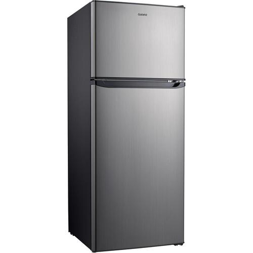 10 Cu. Ft. Top Mount Refrigerator - Stainless Steel