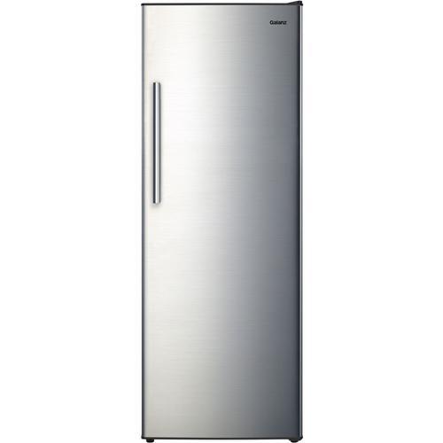 11 Cu. Ft. Upright  Freezer - Stainless Steel
