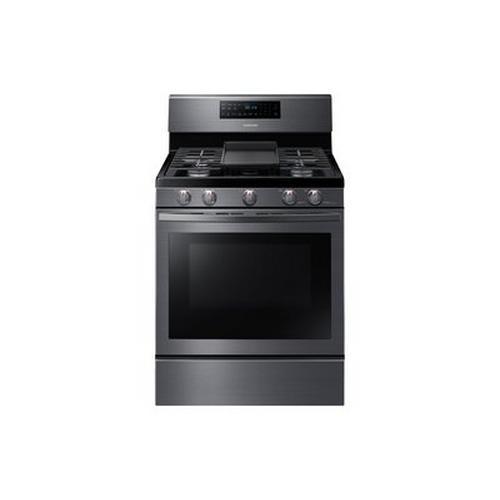 5.8 Cu. Ft. Gas Self Clean Range - Black Stainless Steel