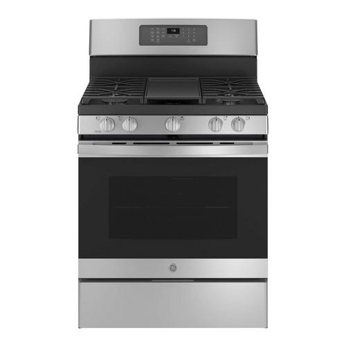5.0 cu. ft. Self Clean Gas Convection Range - Stainless Steel