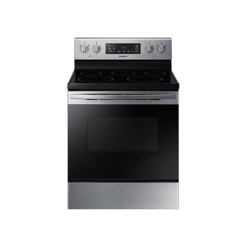 5.9 cu. ft. Self Cleaning Standard Oven Electric Range - Stainless