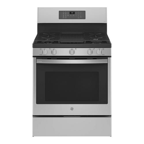 5.6 cu. ft. Self Clean Gas Range - Stainless Steel