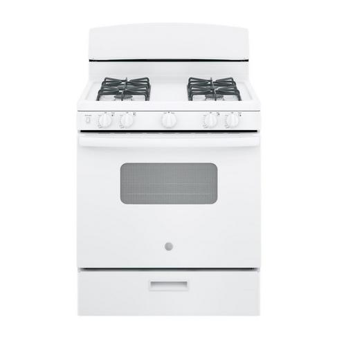 "30"" 4.8 cu. ft. Standard Clean Gas Range - White"