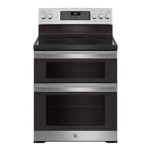 6.6 cu. ft. Steam Clean Electric Double Oven Range - Stainless Steel