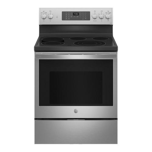 5.3 cu. ft. Self Clean Electric Convection Range - Stainless Steel