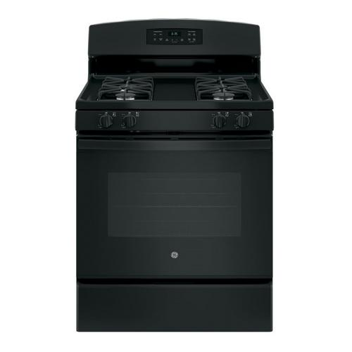 5.0 cu. ft. Self Cleaning Gas Range - Black