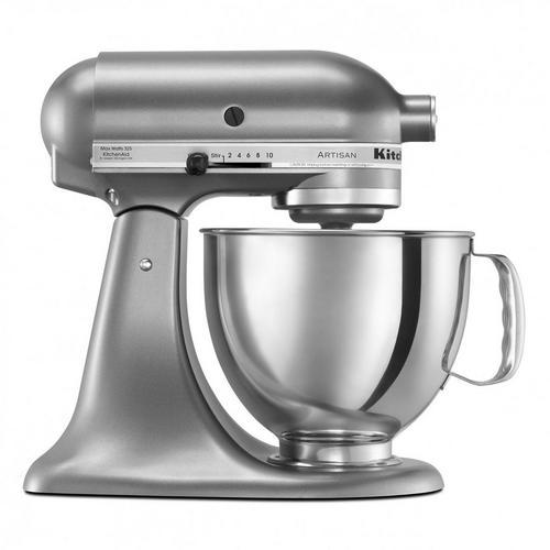 5QT Stand Mixer - Silver