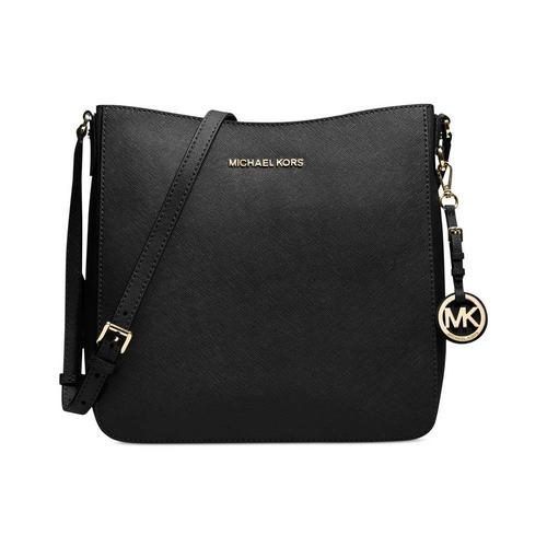Large Black Messenger Crossbody