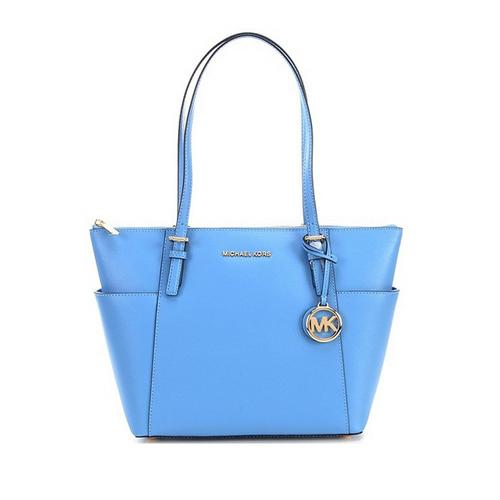 Voyager East West Tote - Blue