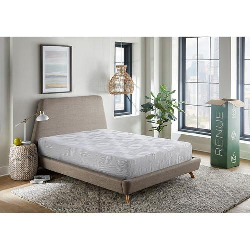 "8"" Tight Top Medium California King Gel Memory Foam Boxed Mattress"