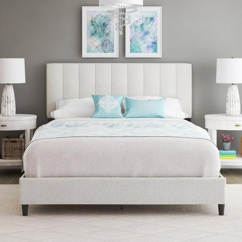 Lafayette King Platform Bed - White