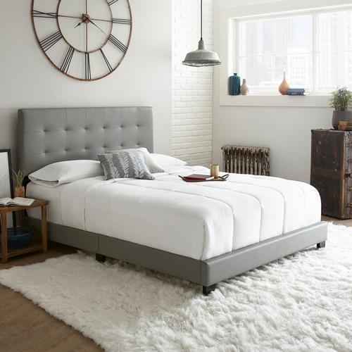 Ripley Full Platform Bed - Gray