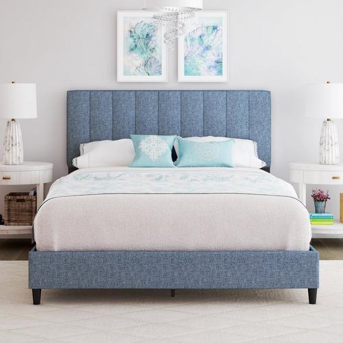 Lafayette King Platform Bed - Blue