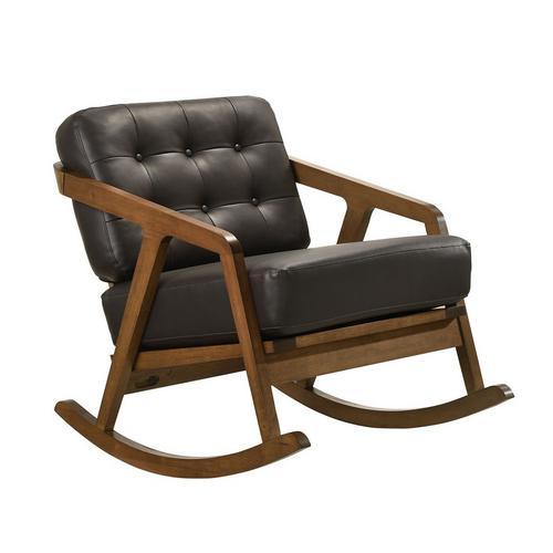 Ingram Rocker Chair - Brown