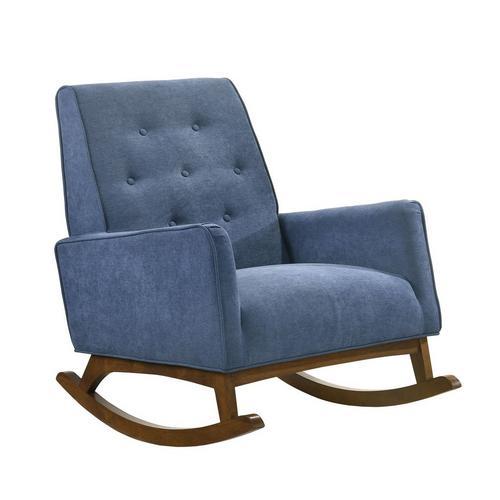 Marius Rocker Chair - Blue