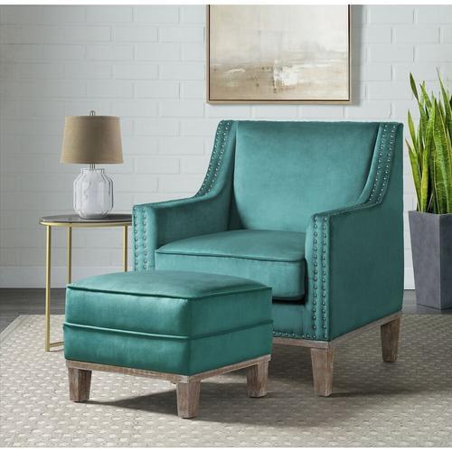 Augusta Accent Chair - Teal