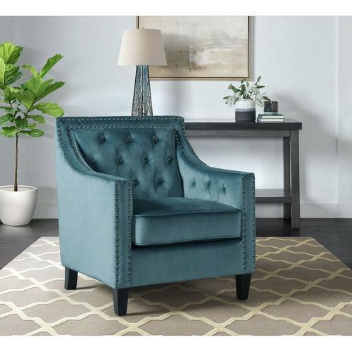 Tiffany Accent Chair - Marine Blue