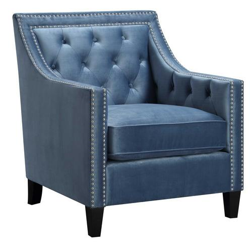 Tiffany Accent Chair - Marine Blue
