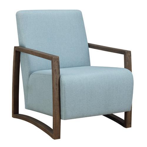Furman Accent Chair - Light Blue