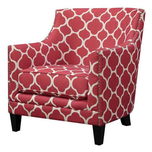 Dinah Accent Chair - Red