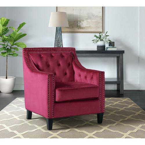 Tiffany Accent Chair - Red