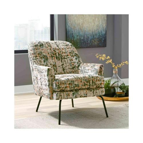 Dericka Accent Chair - Beige/Green