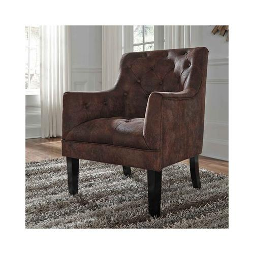 Drakelle Accent Chair - Mahogany