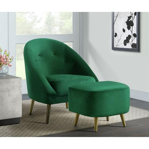 Trinity Accent Chair - Emerald