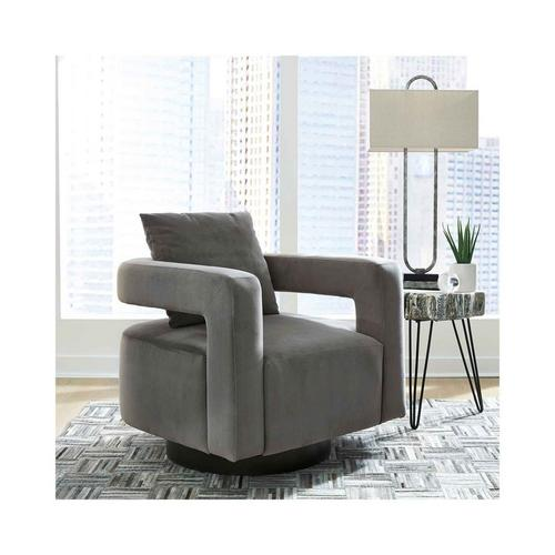 Alcoma Swivel Accent Chair - Otter