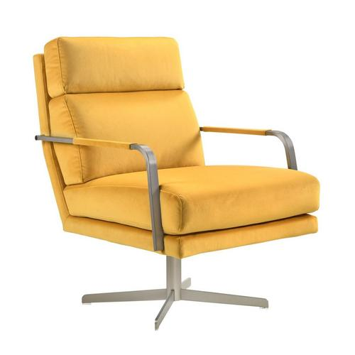 Kota Swivel Accent Chair - Apricot
