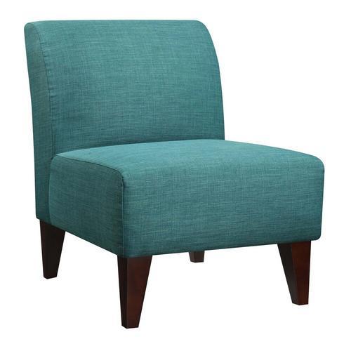 Scarlett Accent Slipper Chair - Teal
