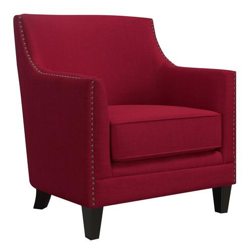 Dinah Accent Chair - Berry