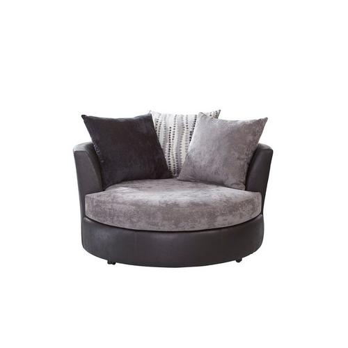 Jamal II Swivel Barrel Chair