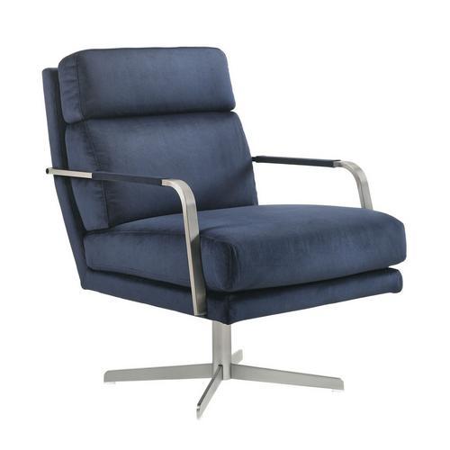 Kota Swivel Accent Chair - Blue