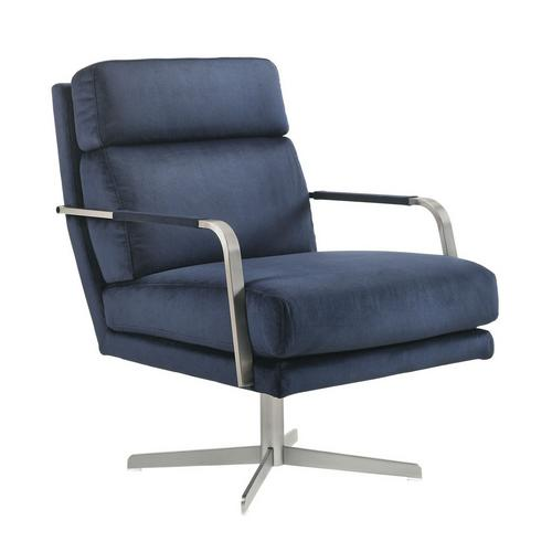 Kota Swivel Accent Chair - Blue