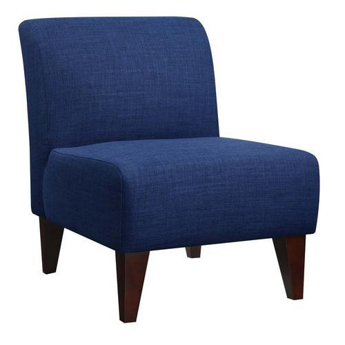 Scarlett Accent Slipper Chair - Blue