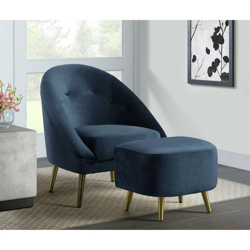 Trinity Accent Chair - Navy Blue