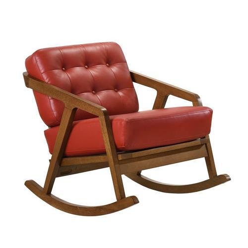 Ingram Rocker Chair - Red