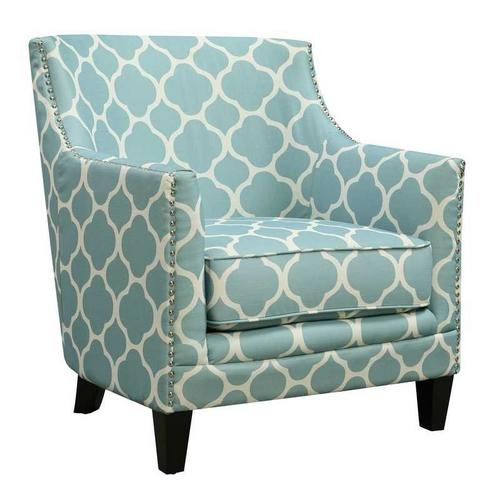Dinah Accent Chair - Aqua