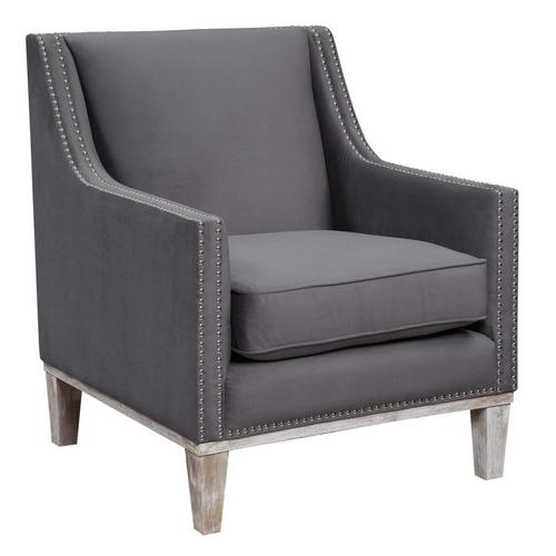 Augusta Accent Chair - Charcoal