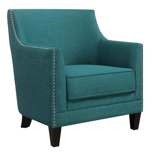 Dinah Accent Chair - Teal
