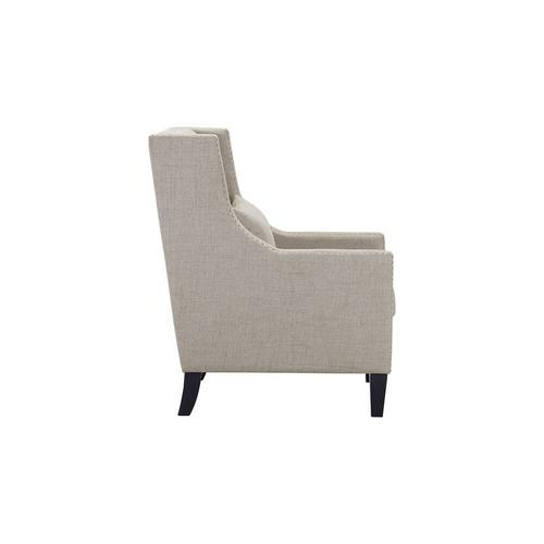Whittier Accent Arm Chair - Taupe