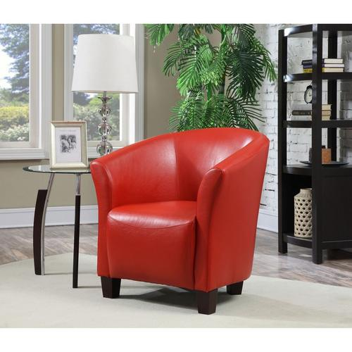 Rocket Red Swivel Chair - Red