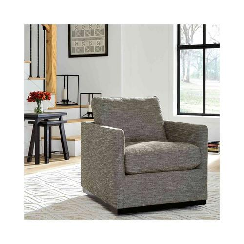 Grona Swivel Accent Chair - Earth