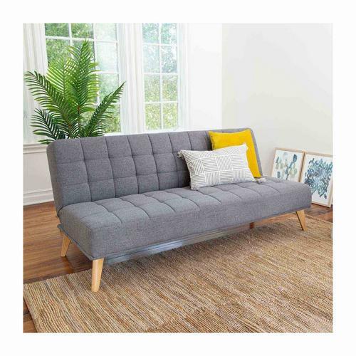 Carson Grey Fabric Convertible Sofa