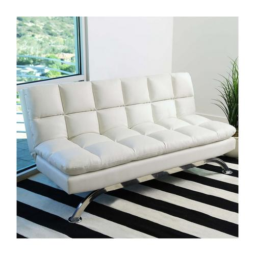 white lounger