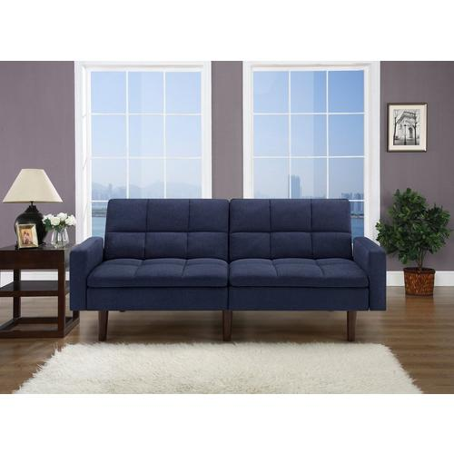 Kennedy Sofa Convertible - Navy