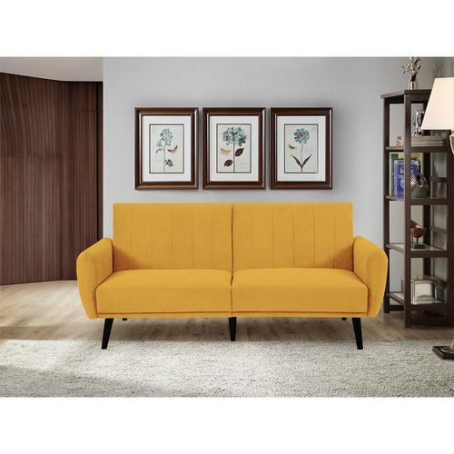 Vento Sofa Convertible - Mustard