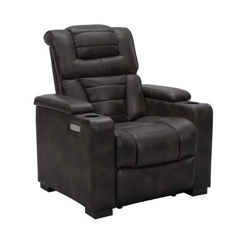 Galaxy Power Theater Chair - Brown